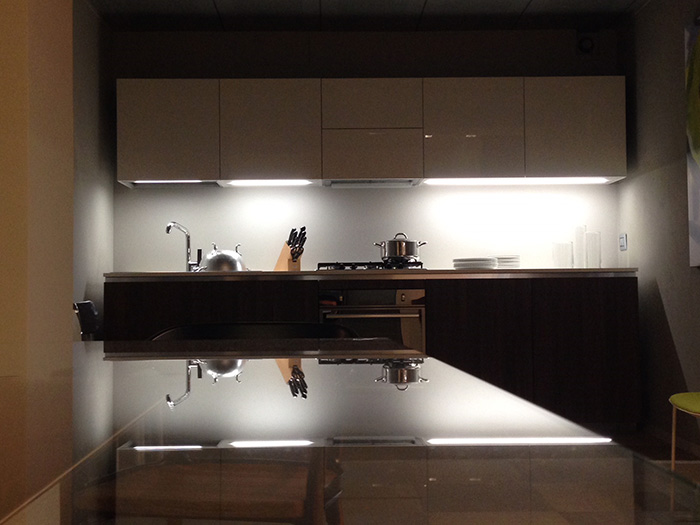 Outlet cucine Rossana modello HD23 lineare